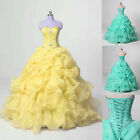 Sweet 16 Quinceanera Dresses Ball Gown Formal Prom Party Wedding Dress Custom