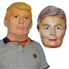 Major Presidential Rally Hallowen Donald Trump/Hillary Clinton Ring Rubber Mask