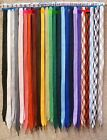 "Fat Shoelaces Thick Flat 2/5"" Wide Shoelaces Solid Color for All Shoe Types"