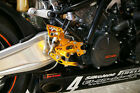 KTM RC8 SATO RACING REARSETS REAR SETS !!!!!!!!!!!!!!!!