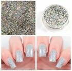 5g Glitter Pot - Holo Diamond Silver Mermaid Shimmer Fine Nail Art Gel Acrylic