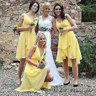 Ever Pretty US Women Padded Chiffon Cocktail Party Bridesmaid Prom Dress 03644