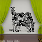 WALL STICKER ZEBRA vinyl wall decal  WALL QUOTE STICKER  WALL ART STICKERS  N4