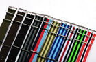 Premium Quality Nylon Fabric Replacement Watch Band Straps - FITS ALL WATCHES