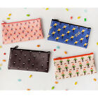HIMORI Hello Pouch - Slim Zipper Pencil Case - Accessory Pouch - Makeup Bag