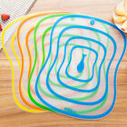 3Sizes Fruit Vegetable Food Meat Cutting Board Chopping Mat Flexible Thin Tool