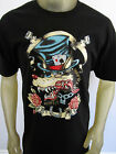 Gambling Poker Wolf tattoo party tee shirt men's black Choose A Size
