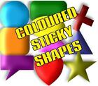 35mm SELF ADHESIVE STICKY LABEL COLOUR CODE DOTS & SHAPES FOR PLANNERS & DIARIES