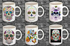 """CANDY SKULL"" Printed Boxed Mugs ~ Various options ~ Can be Personalised"
