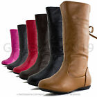 New Toddler Girls Faux Leather Zipper Closure Boots Option Jr (Toddler 7 8 9 10)