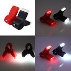 LED Bicycle Bike USB Rechargeable Clip Design Rear Tail Light QR Mount Taillight