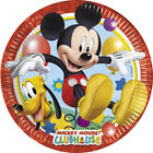 Mickey Mouse Playful Birthday Party Decoration Items, Tableware Supplies
