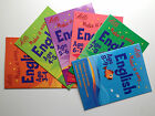 E003  Letts Make It Easy Kids learning English Ages 3-9 Quick Tests Fidge Book