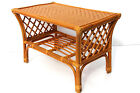 Makita Rattan Wicker Handmade Coffee Table Colonial