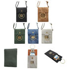 Jeans PU Leather Cross Body Mini Bag Phone Pouch Wallet Case  For iPhone/Samsung