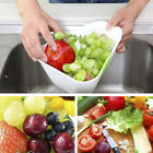 Easy Use Collapsible Kitchen Maestro Folding Colander Strainer Handle #ff
