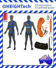WorkSafeGEAR 15m Height Safety Roofers Harness Kits Tradesman Roofing Industrial