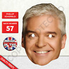 Phillip Schofield Celebrity Card Face Mask - Fast Dispatch