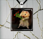 LOVE IS FOR HAMSTERS TOO PENDANT NECKLACE  -g4thb