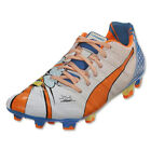 Puma EvoPower 1.2 Graphic Pop FG Wht/Orange Clown Fish/ Electric Blue 103468 01