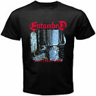 new ENTOMBED LEFT HAND PATH ROCK BAND COVER LOGO Men's Black T Shirt