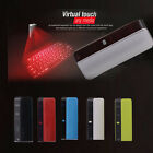 Virtual Laser Projection Keyboard Wireless Bluetooth For Smartphone PC Laptop US