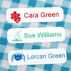 25 Personalised Iron On In Name Labels with Motif Tapes Back To School