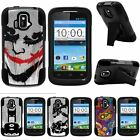 For ZTE Sonata| ZTE Radiant| Hybrid Hard Bumper Stand Case Joker