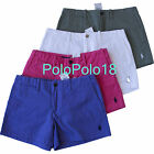 New Ralph Lauren Sport Women Multi Pony Mini Shorts 2 4 6 8 10