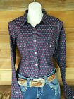 New Wrangler Winter 2015 Nicki Printed  SHow  Western Campdrafting Shirt 16