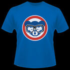 New Chicago Cubs Harry Carey Glasses Holy Cow Wrigley Field T-shirt on Ebay