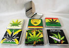 Kingsize Weed Ganja Cannabis Leaf Cigarette Roll Up Protection Case Select Type