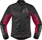 Icon Womens Wireform Motorcycle Riding Jacket Relaxed Fit ALL SIZES