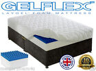 LAYTEC LAYGEL GELFLEX MATTRESS 2ft 3ft 4ft 5ft 6ft SINGLE DOUBLE KING ALL SIZES