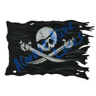 Pirate Ship Battle Flag Black Decal Sticker - Car Truck RV Cup Boat Tablet Cell