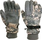 ACU Digital Camouflage Cold Weather Waterproof Long Cuff Insulated Gloves
