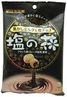 UHA Mikakuto SHIO NO HANA Milk Candy Salt Flower Brown Chocolate Sweet Japan o63