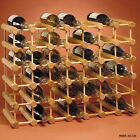 40 Bottle Peg Style Wine Rack - Champagne Storage Display Decor Bar Accessories
