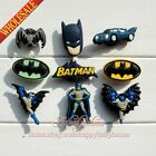 New 9-45pcs Batman PVC Shoe Charms,Shoe Decoration/Accessories kids Party gifts
