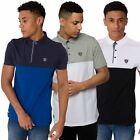 Rawcraft New Mens Polo Shirt Short Sleeve Contrast Colour Collared Tee Top S-XL