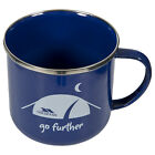 Trespass Wilfred Camping Cup Retro Enamel Mug for Festival