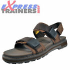 Caterpillar Cat Drifter Mens Casual Leather Superior Adventure Sandals Brown