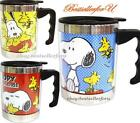 Authentic Peanuts Insulated Thermos Stainless Steel Mug Coffee Tea Cup 16-Ounces