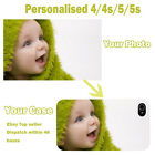 Personalised Custom Photo Picture Case Cover for Samsung S3 iPhone 4/5/6 Lovely