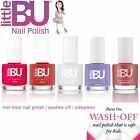 Little BU® Water Based Non-Toxic Colour Nail Polish Kids Teen MADE IN FRANCE
