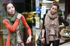Green/Brown Zebra Prints Fashion Ladies Long Large Scarf Wrap Shawl Style Summer