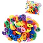 PACK OF ASSORTED COLOURS GIRLS BABY TODDLER KIDS ELASTIC HAIR BANDS BOBBLES Vari