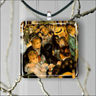 BAL AU MOULIN DE LA GALETTE ART BY RENOIR PENDANTS NECKLACE M - L - XL -dcv7Z