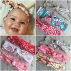 Miss LEXIS - Newborn Baby Girls Stretch Bow Top Knot Headband