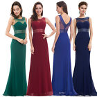 Ever Pretty Women's Navy Blue Long  Bridesmaid Party Formal Evening Dress 08734